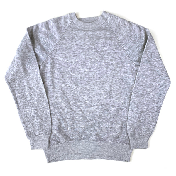 Blank Track & Court Heather Grey Tri-Blend Sweatshirt