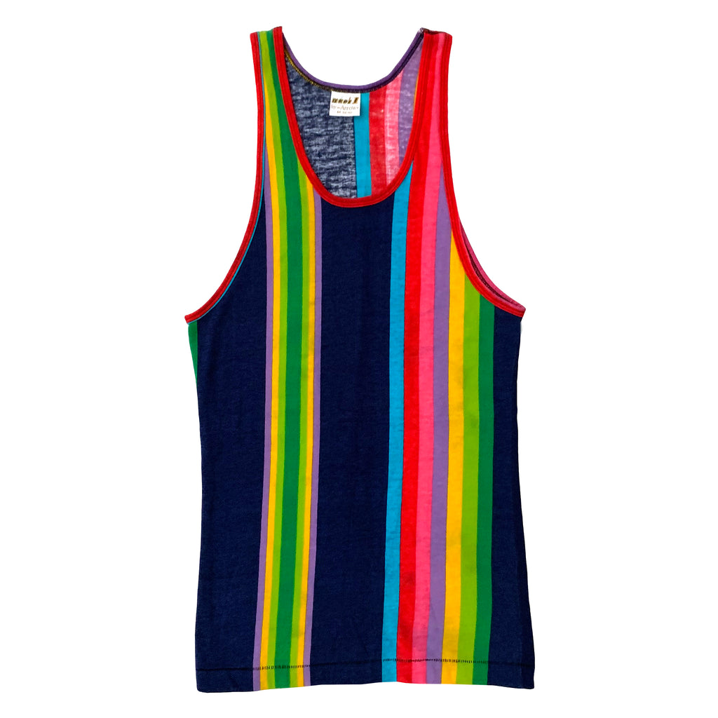 Rainbow Striped Tank Top