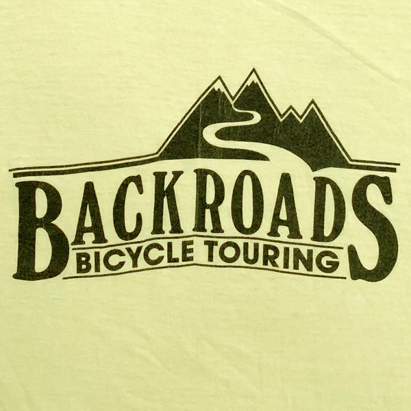 Back Roads Bicycle Touring T-Shirt