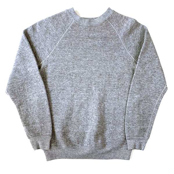 Blank Discus Athletic Heather Grey Tri-Blend Sweatshirt