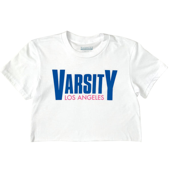 Varsity Los Angeles Milano Cropped T-Shirt