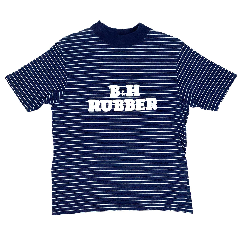B&H Rubber/BF Goodrich Slicks Striped T-Shirt