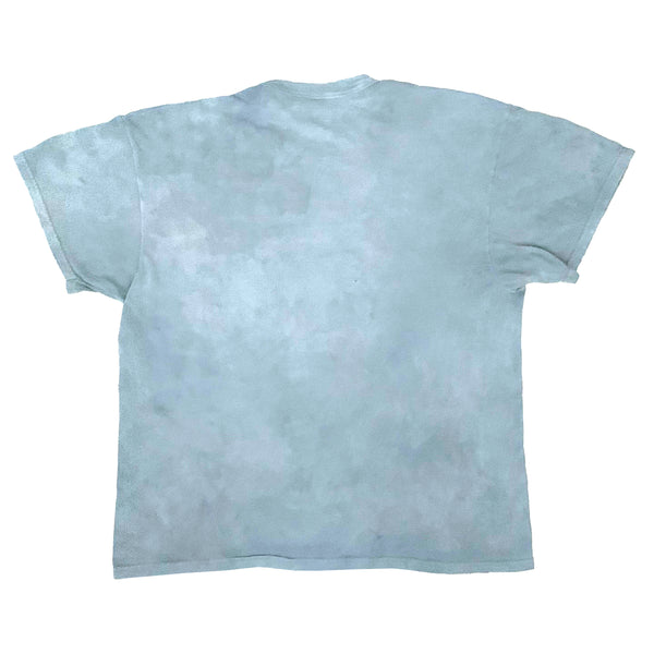 Light Indigo Dyed Fruit of the Loom Large T-Shirt