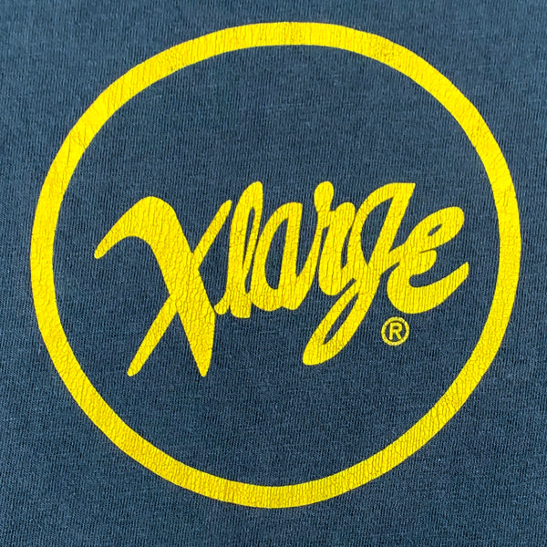 X-Large Brand Verve Jazz Circle Logo T-Shirt
