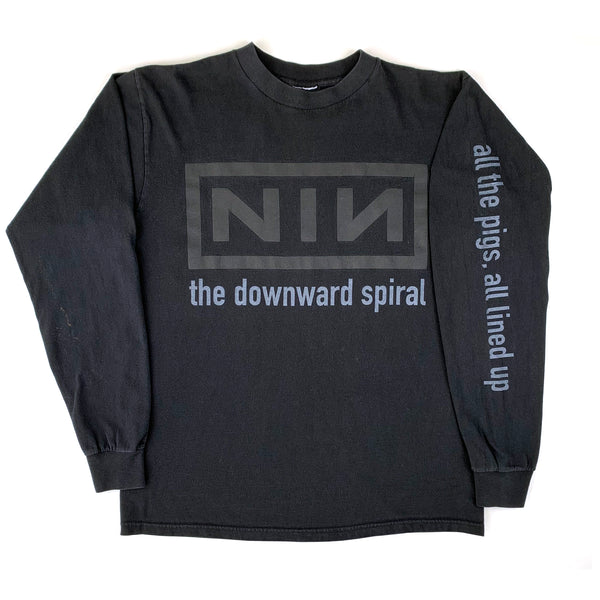 Nine Inch Nails The Downward Spiral L/S Shirt