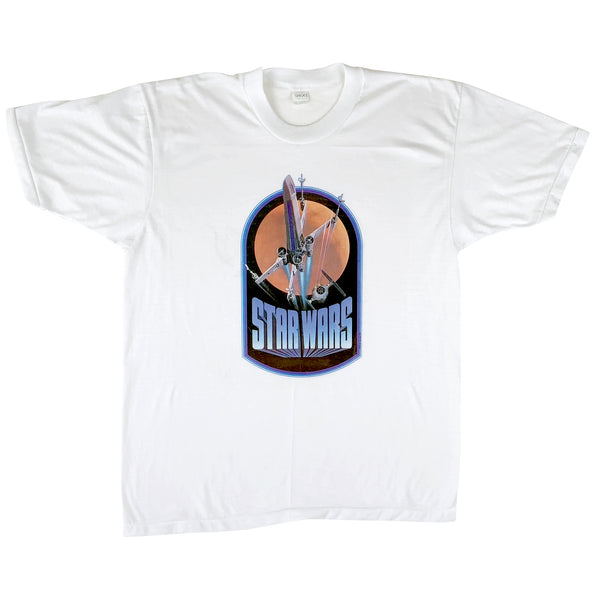 Star Wars 1976 X-Wing & TIE Fighter Cast and Crew Only T-Shirt (M/L)