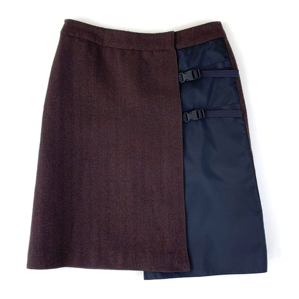 Miu Miu Brown Skirt