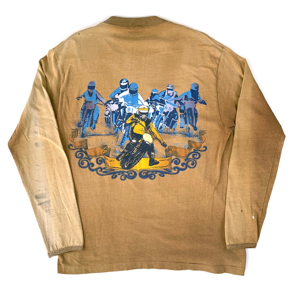 Motocross Thrashed L/S Shirt (1970's)