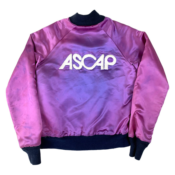 ASCAP Purple Satin Bomber