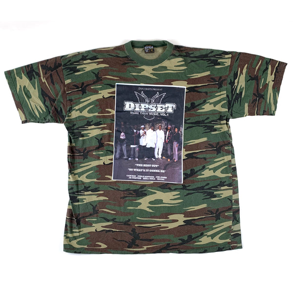 Diplomats Dipset More Than Music Vol 1 Camo T-Shirt