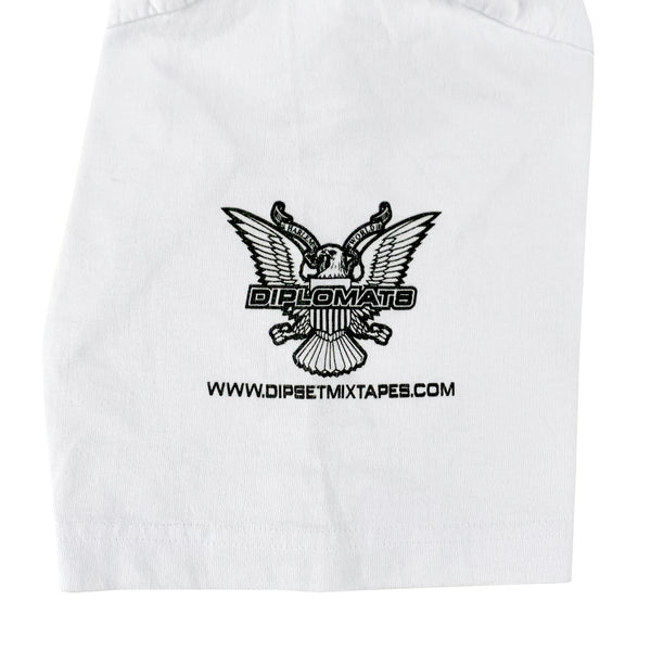 Diplomats Harlem World White T-Shirt