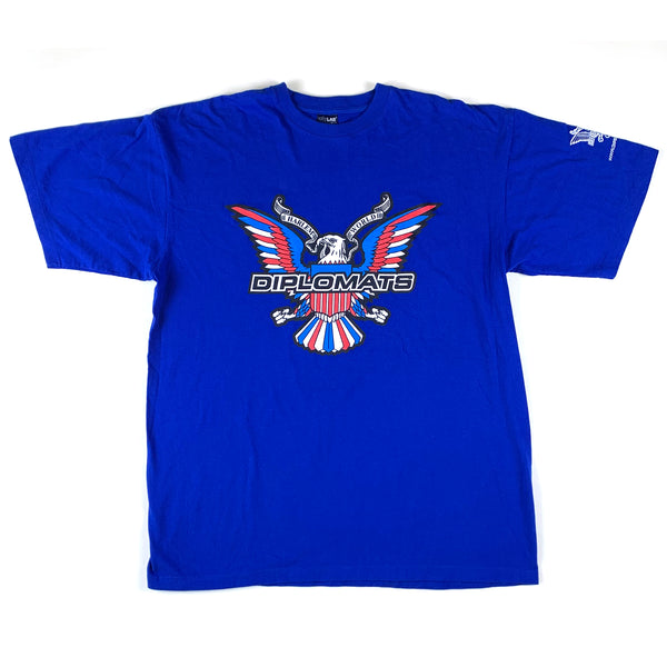 Diplomats Harlem World Blue T-Shirt
