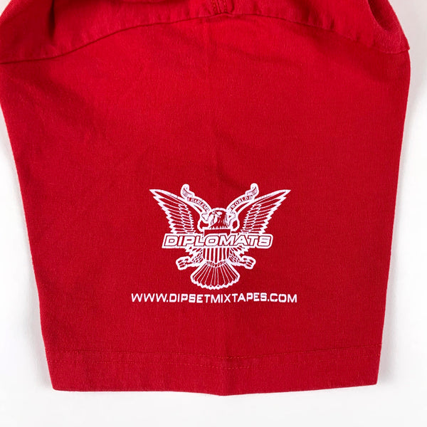 Diplomats Harlem World Red T-Shirt