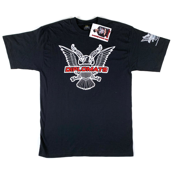 Diplomats Harlem World Black T-Shirt (Deadstock)
