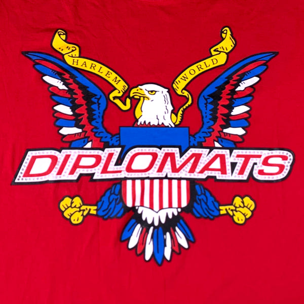 Diplomats Bedazzled Red T-Shirt