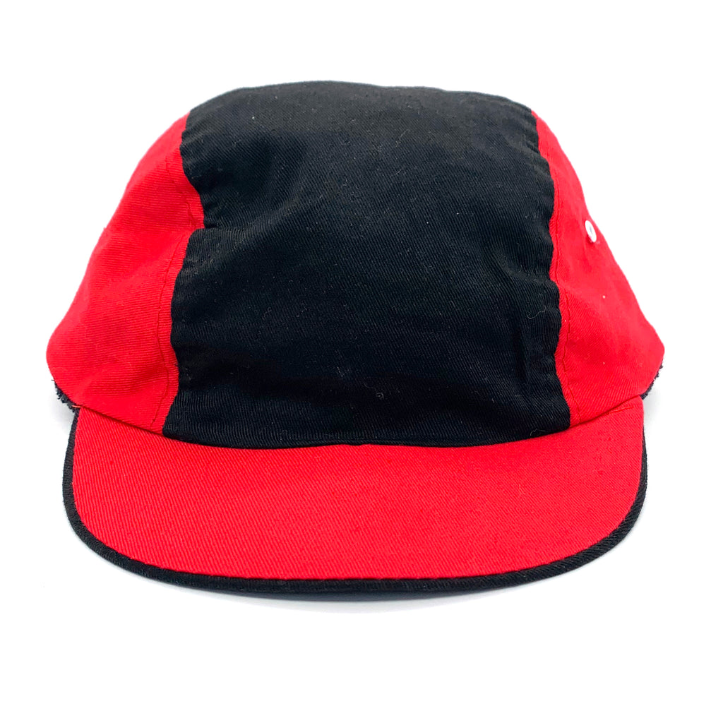 Revlon Halston Black & Red Cycling Hat