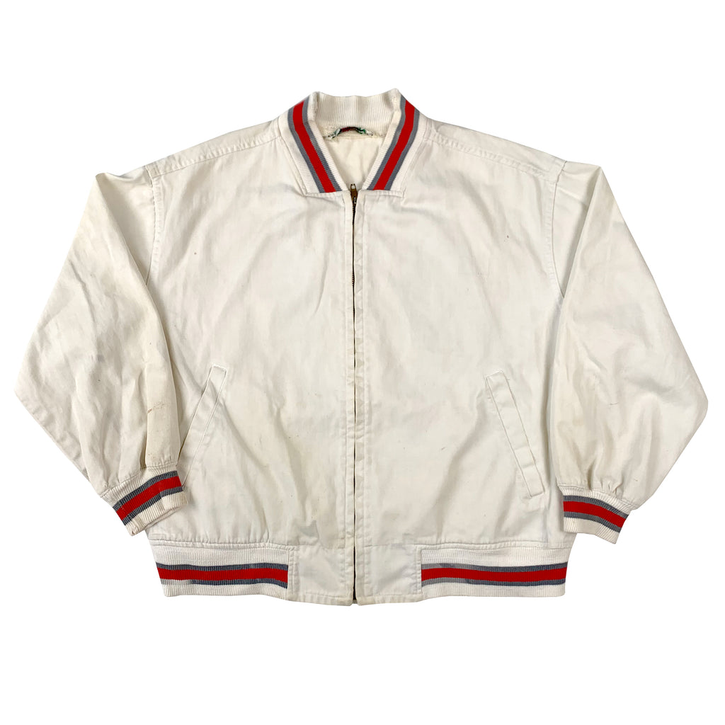 McGregor White Zip Up jacket