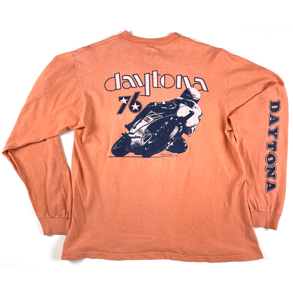 Daytona 76 Motorcycle Racing L/S Shirt