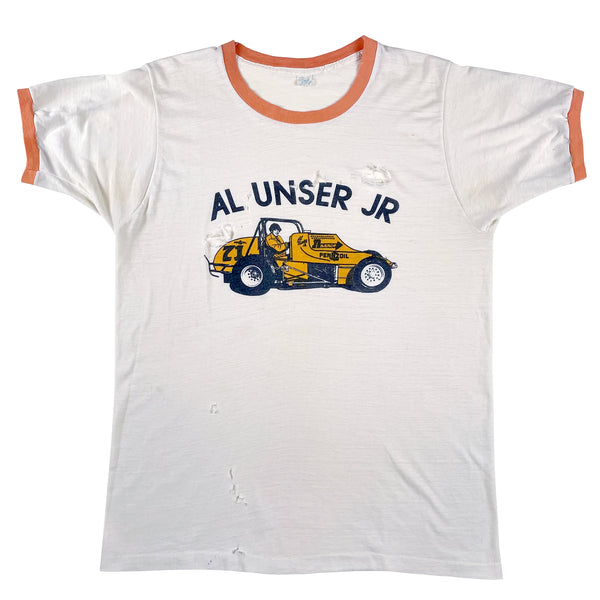 Al Unser Jr. Sprint Car Ringer T-Shirt