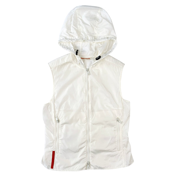 Prada Hooded Vest Windbreaker