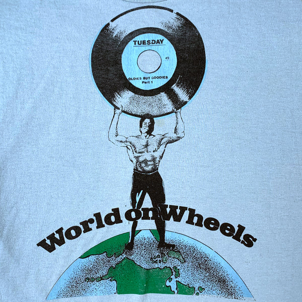 World on Wheels Roller Rink Oldies But Goodies T-Shirt