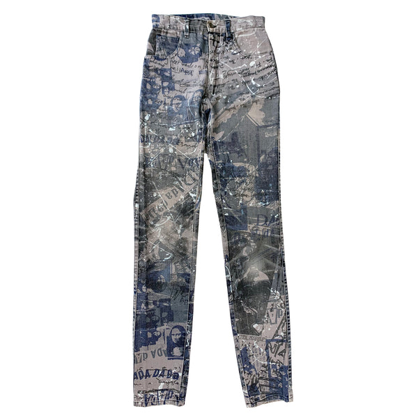 Modzart All Over Print Jeans