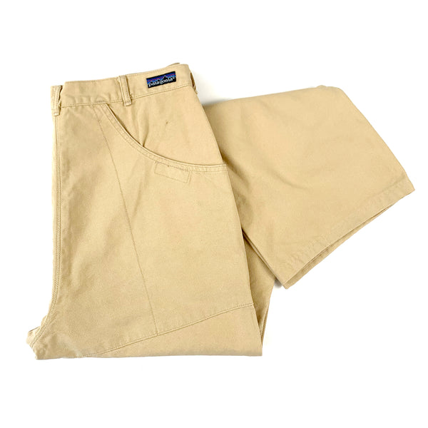 Patagonia Beige Stand Up Canvas Work Pants