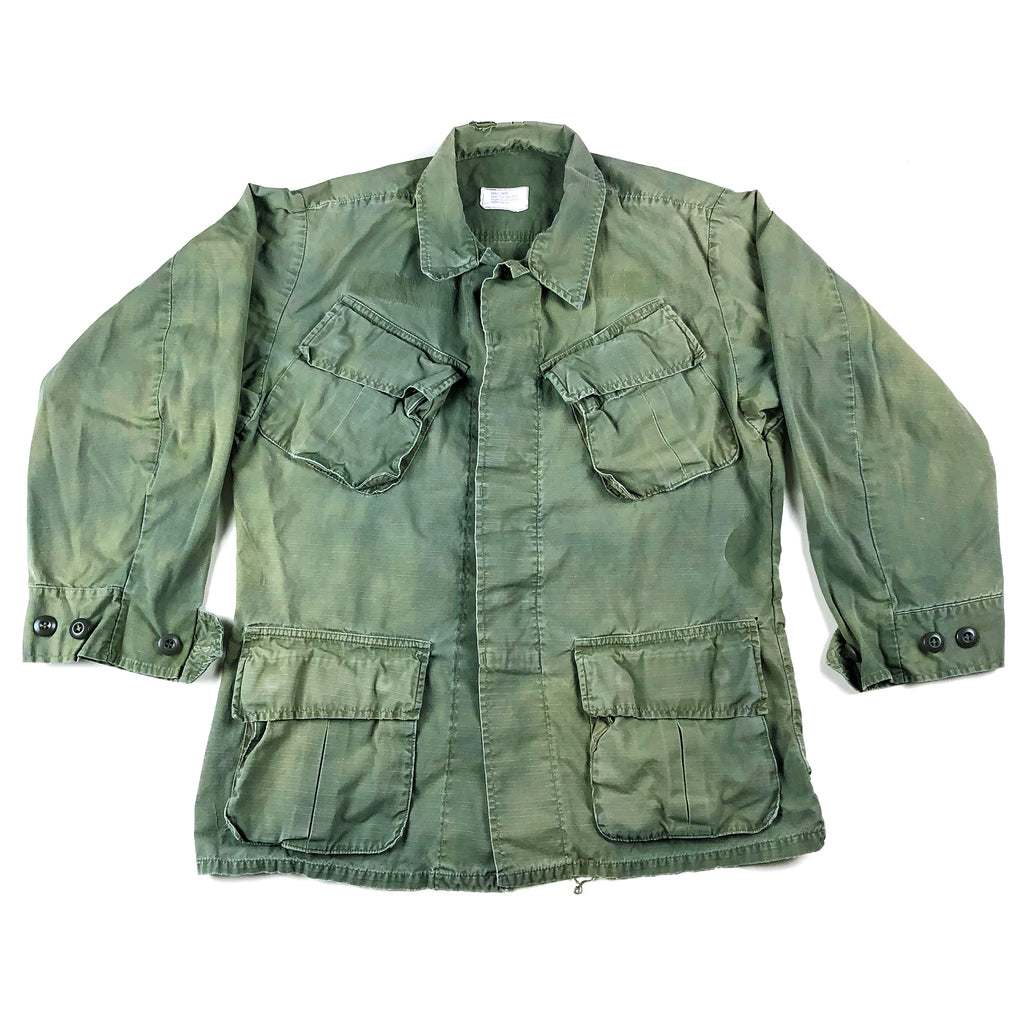 Vietnam Era US Army Rip Stop Poplin Jacket (Small Short)