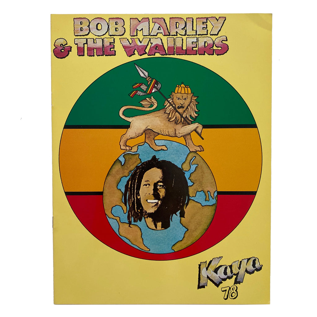 Bob Marley Kaya 78 Tour Book