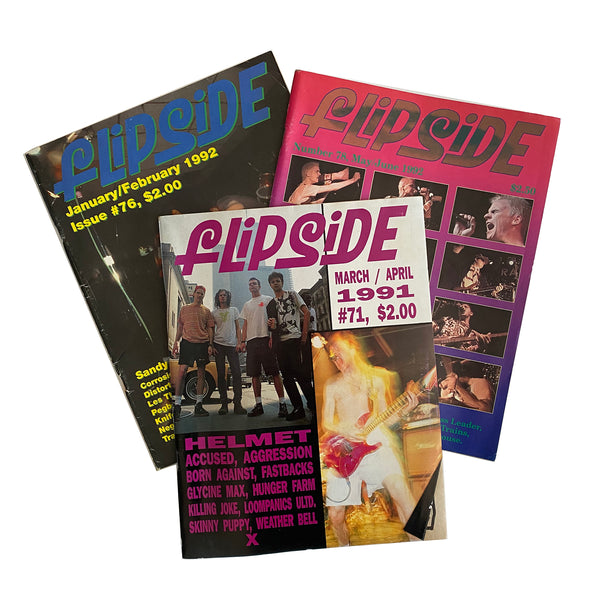 Flipside Magazine (Lot of 3)