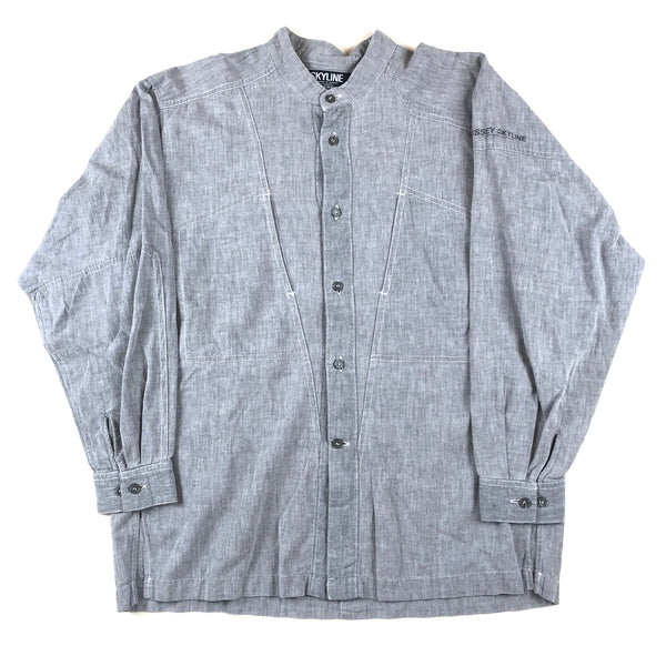 Issey Miyake Skyline Chambray Button Down