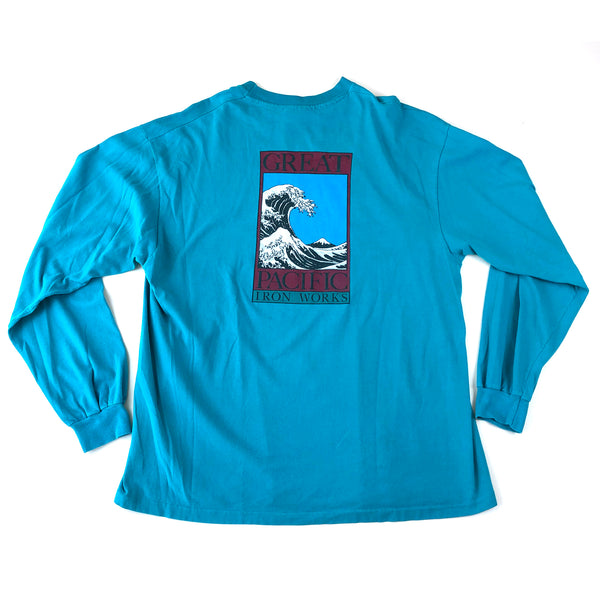 The Great Pacific Iron Works Long Sleeve T-Shirt (1990's)