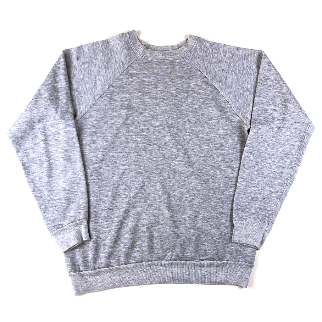 Blank Heather Grey Raglan Sweatshirt (DN)