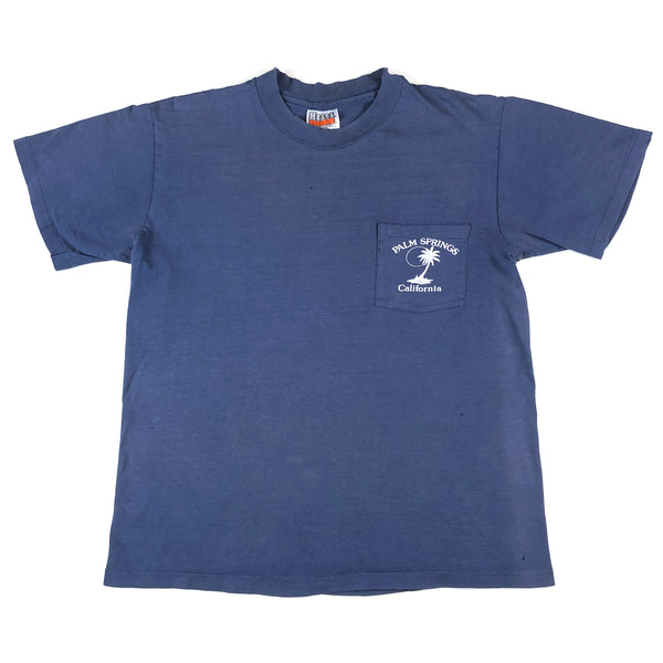 Palm Springs Tourist Pocket T-Shirt (Distressed)
