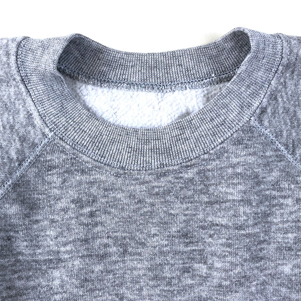 Blank Heather Grey Raglan Sweatshirt (S)