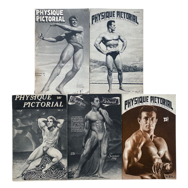 Physique Pictorial (Lot Of 5)