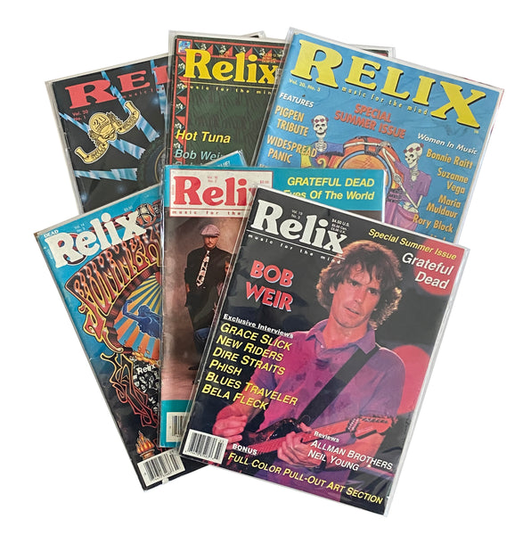 Relix Magazine (Lot of 6)