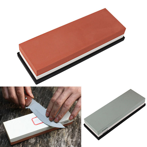 Corundum Dual-sided Sharpening Stone for Kitchen