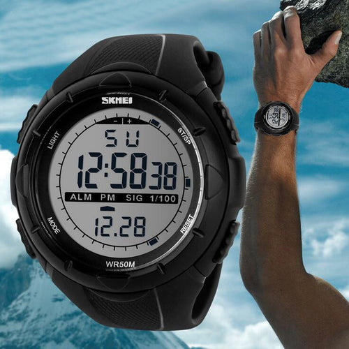 LED Digital Mens Sports Watches