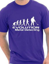 "T Shirt ""Evolution Of Metal Detecting"""