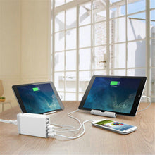 USB Power Station (5 Ports) / Fast Charger For Mobile Phone & Tablet