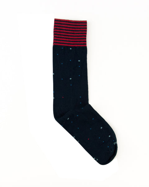 SOCK|CLUB 'The Electorate' - Navy [WHOLESALE]