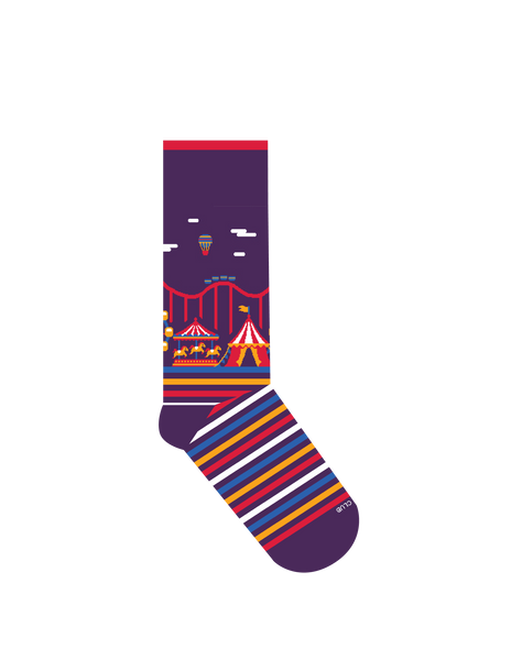 SOCK|CLUB 'The Fairground' [6-PACK WHOLESALE]