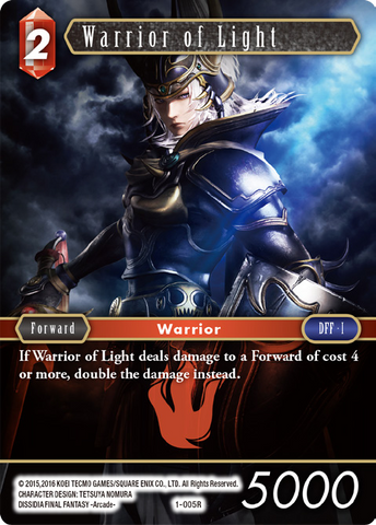 1-005R Warrior of Light (FOIL)