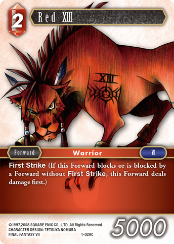 1-029C Red XIII