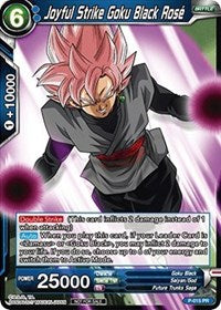 Joyful Strike Goku Black Rose (FOIL) - Dragon Ball Super
