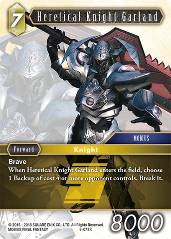 5-073R Heretical Knight Garland (FOIL)