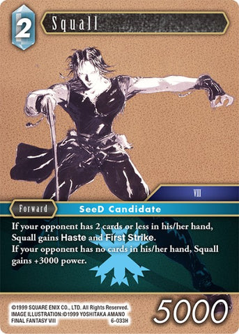 6-033H Squall (FOIL)