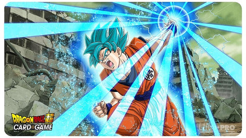 Dragon Ball Super Super Saiyan Blue Son Goku Playmat