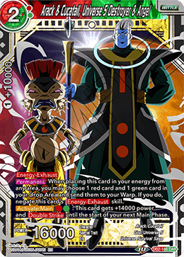 Arack & Cucatail, Universe 5 Destroyer & Angel